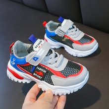 Spring New Kids Mesh Breathable Shoes Baby Girls Sport Sneakers Children Shoes Boys Fashion Casual S