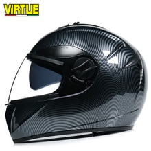 TUGEND motorrad helm elektroauto helm nachahmung carbon fiber helm