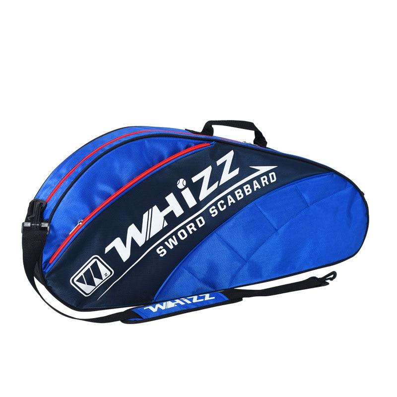 3-4 Sticks Badminton Bag Tennis Racket Backpack Large Capacity Polyester Fiber Sports Padel Training Handbag Squash Racquet Bags