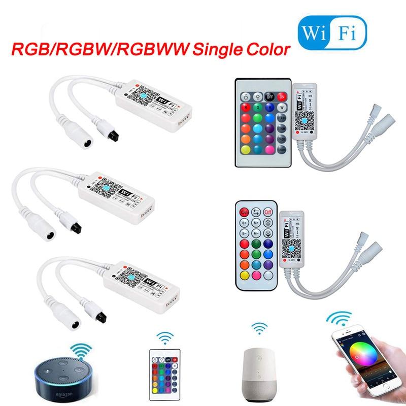 Magic Home LED Wifi Controller RGB RGBW RGBWW 5V 12V 24V WiFi led controller For led strip 5050 2835