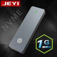 Jeyi I9 Gtr Nvme Aluminium TYPEC3.1 Mobiele Hdd Box Optibay Hdd Case Type C3.1 RTL9210 M.2 USB3.1 M.2 Pcie Ssd U.2 Pci-E Type C