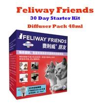 Feliway Friends 30 Day Starter Kit - Diffuser Pack 48ml /Refill