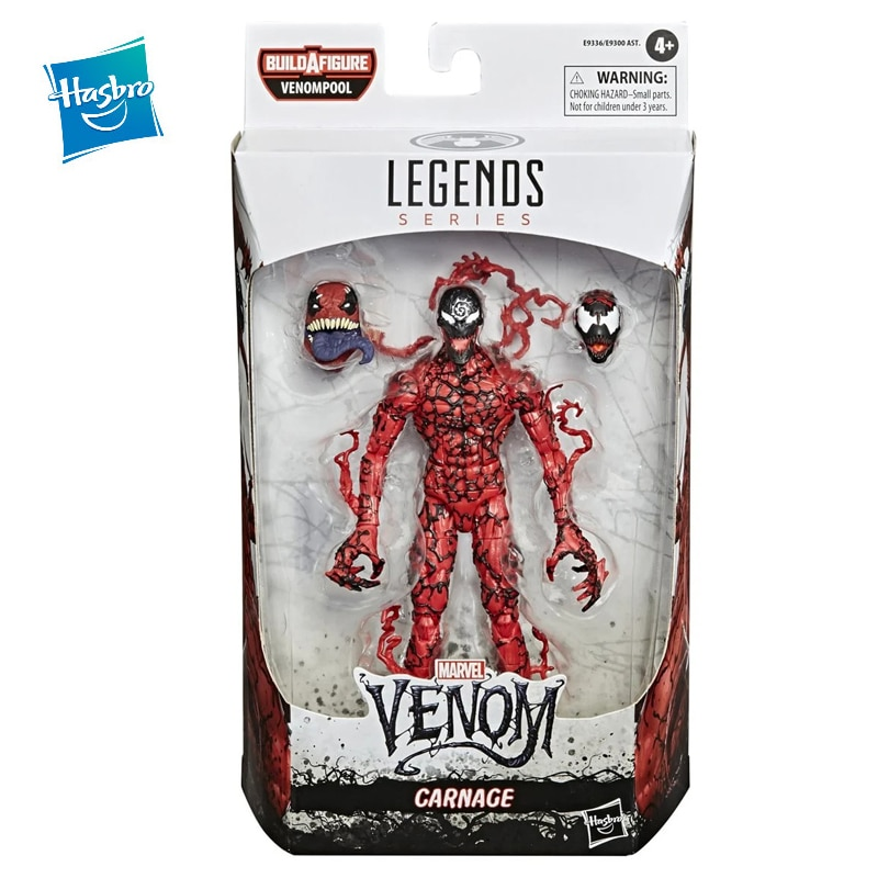 Hasbro Marvel Legends Toy Figures Carnage Venom: Let There Be Carnage Hand Made Doll Model Can Be Collected As A Birthday Gift