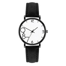Simple Fashion Women Watches Ladies watch Leather Band Wrist Watch Casual Student Clock Girl Gifts �