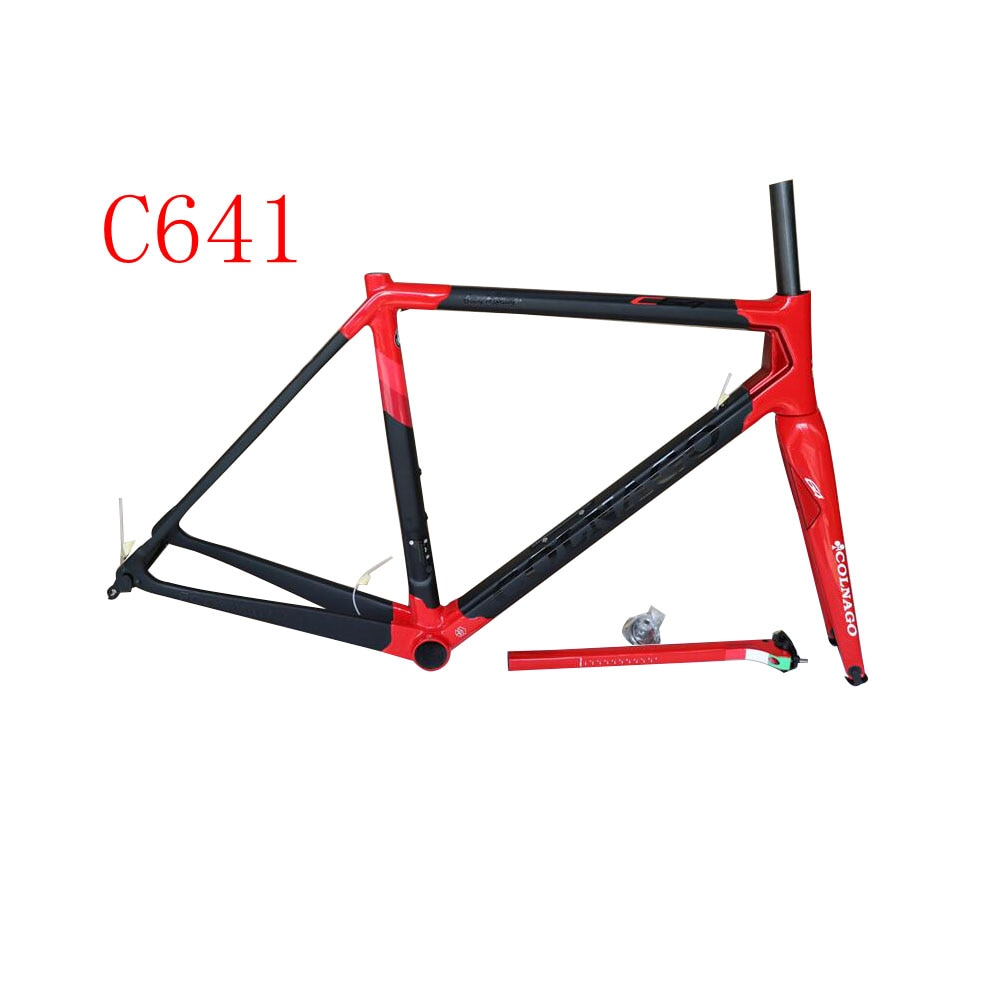 2020 Colnago C64 T1000 Taiwán completa carbono carretera marco framest cuadro de la bicicleta + tenedor + sillín + barra abrazadera + auriculares