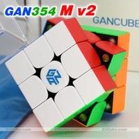 magic cube puzzle 354 v2 m magnetic gan cube wca professional speed cube gan354 m v2 magnet magic cube