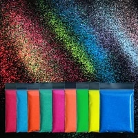 10g colorful nail glitter blue pink yellow shiny candy powder sugar glitter design for nails art manicure diy decorations 0 2mm