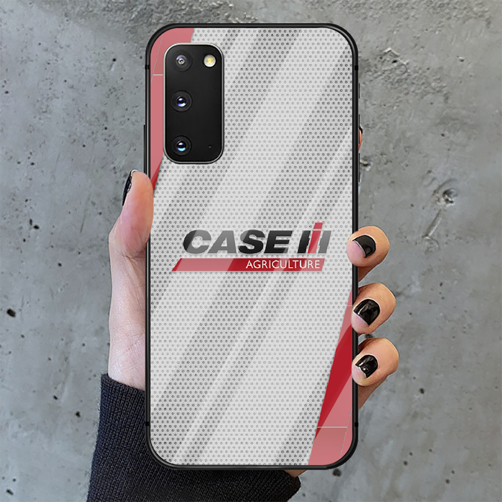 CASE IH Tractor Logo Phone Tempered Glass Case Cover for Samsung Galaxy A M 10 12 20 21 30 31 40 50 51 52 70 71 72 E S Cover  - buy with discount