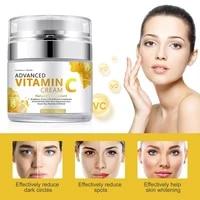 vitamin c facial cream whitening essence collagen anti aging brighten moisturizing shrink pores remove dark circles face cream