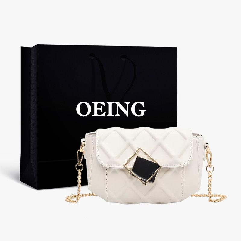 Treliça de Diamante Bolsas de Ombro Acolchoado Feminina Designer Bolsas Senhoras Noite Hobo Pequeno Crossbody Bonito Shopper Chain Bolsa