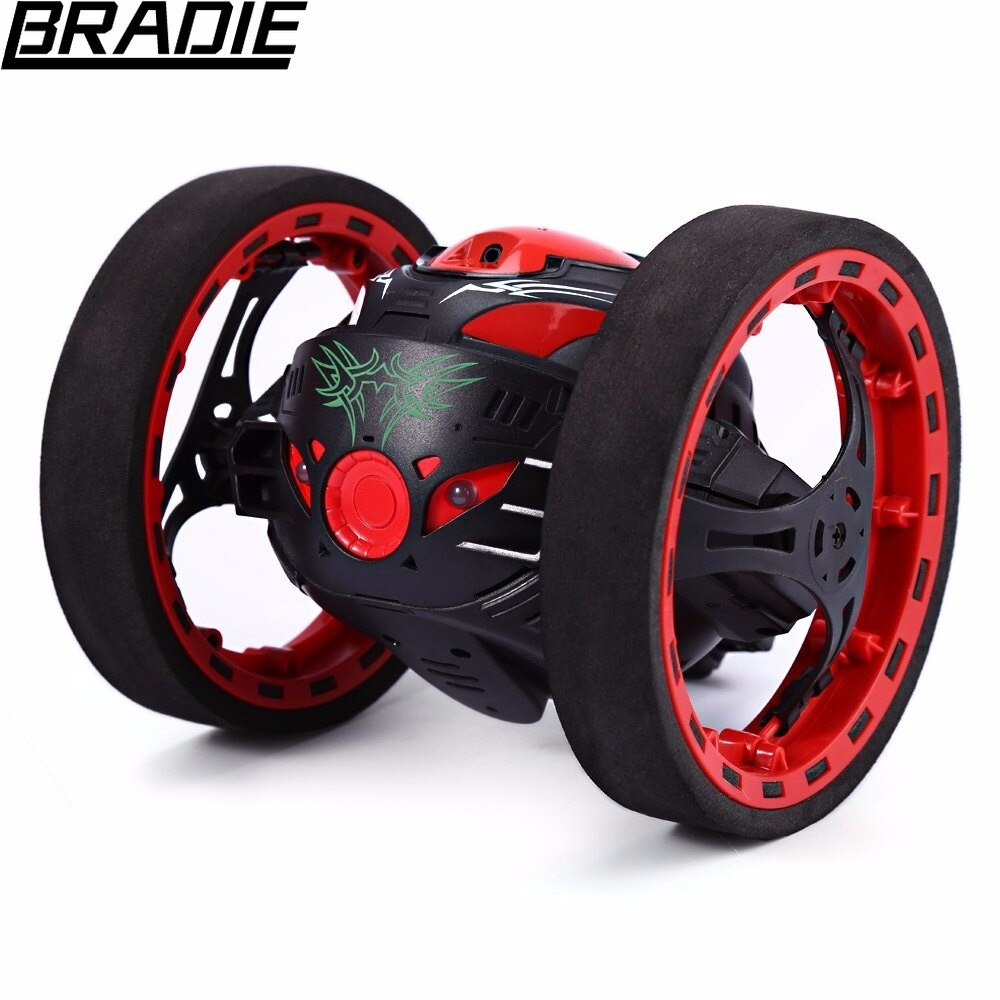 Remote Control Robot Car Upgrade version Jumping Bounce Car SJ88 tRC Cars 4CH 2.4GHz Jumping Sumo RC Flexible Wheels