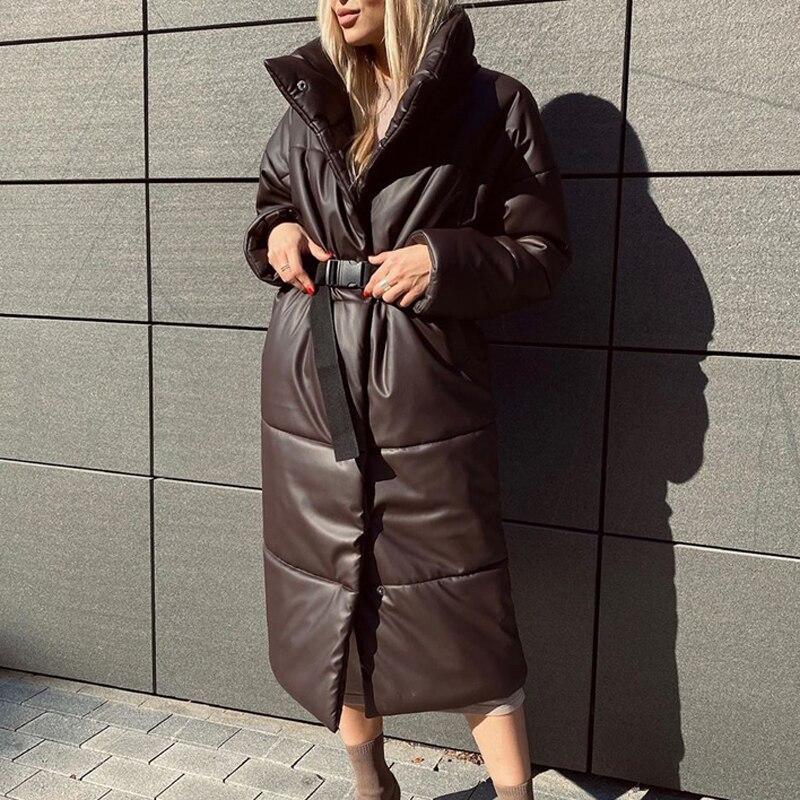 Женские зимние пальто, парка большого размера, тонкие куртки, пальто, длинные рукава, женские длинные хлопковые куртки