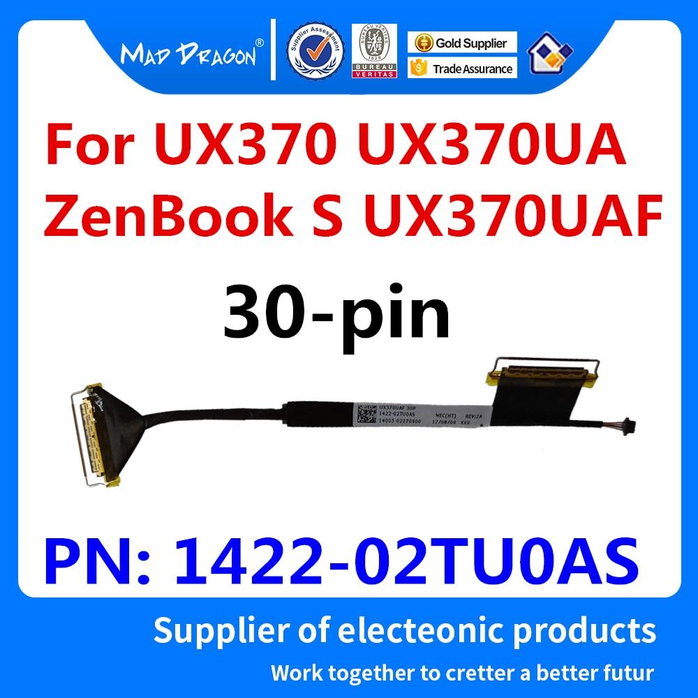 Nuevo Cable flexible LCD LVDs 14005 02270900 para ASUS UX370 UX370UA ZenBook S UX370UAF 1422-02TU0AS portátiles LCD pantalla Video 30 pin