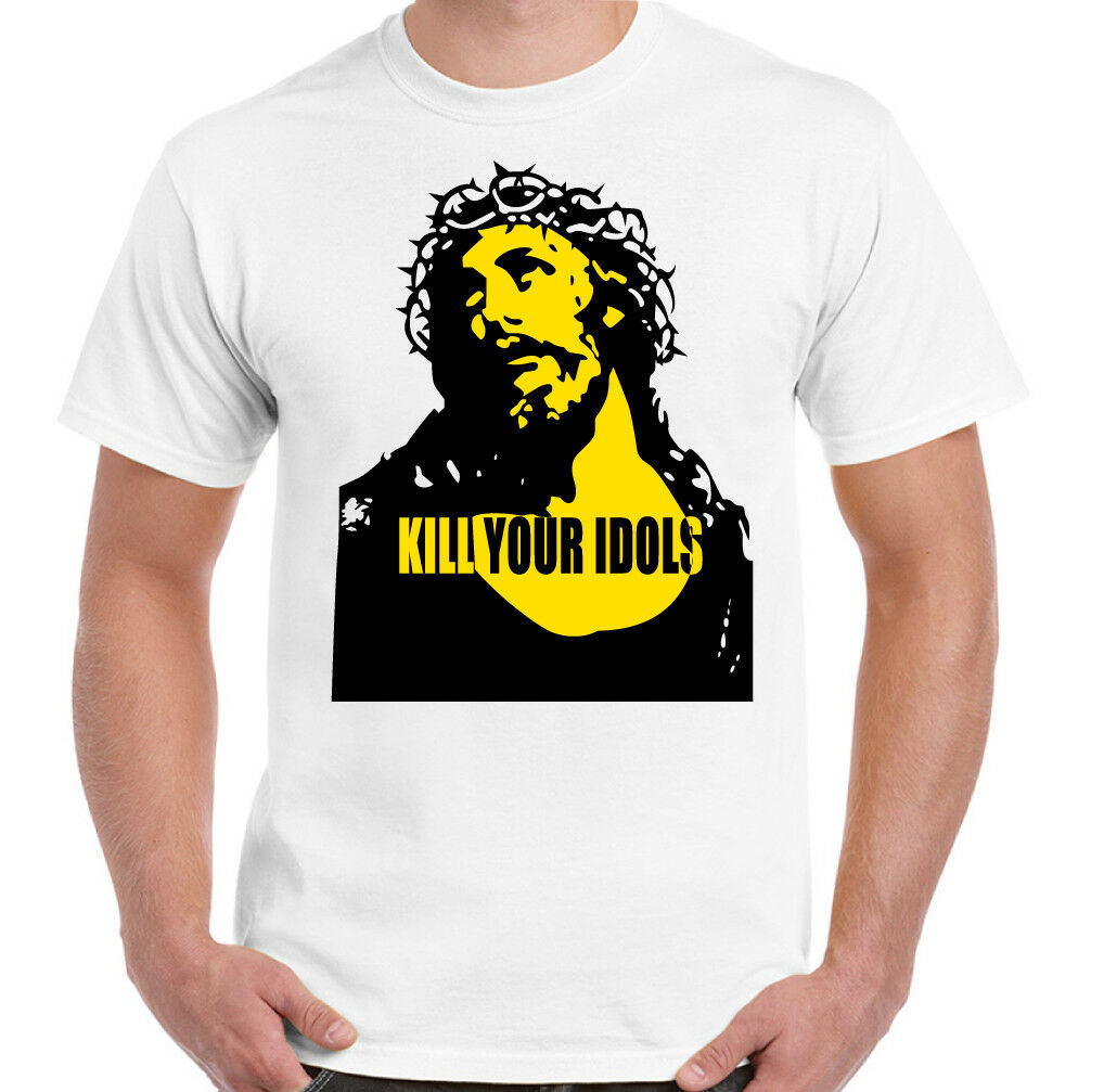 Mata a tus ídolos T camisa, como usado por Axl Rose para pistolas rosas Freddie Mercury.