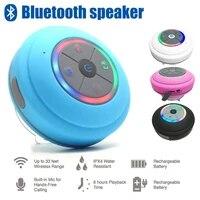 mini universa bluetooth speaker portable waterproof wireless hands free speaker shower bathroom swimming pool car beach outdoor