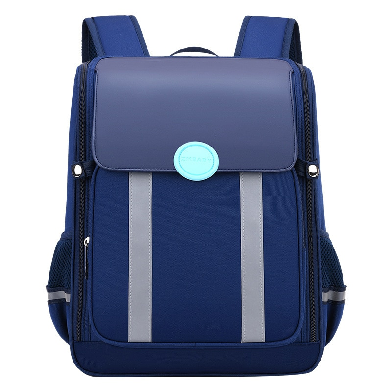 2021 Children Orthopedics School Bags Kids Backpack PU Schoolbag For Girls Boys Waterproof  cartoon Backpacks mochila infantil