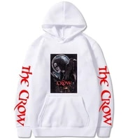 2021 spring new mens casual sweatshirts mens clothing round neck fashion hip hop shirts the crow print mens streetwear men