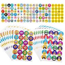 480pcs Reward Stickers for Kids Animals Cartoon Classic Toys School Reward Students Teachers Cute Stickers Labels Various Styles