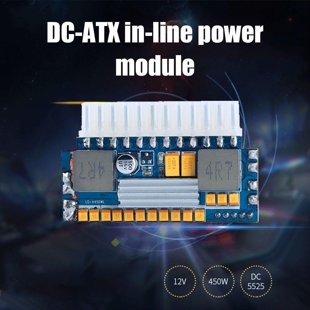 Mini ITX Pico PSU DC ATX PC Switch DC-DC ATX Power Peak 12V Output Input Supply 24Pin 450W 450W For Computer DC V5D3