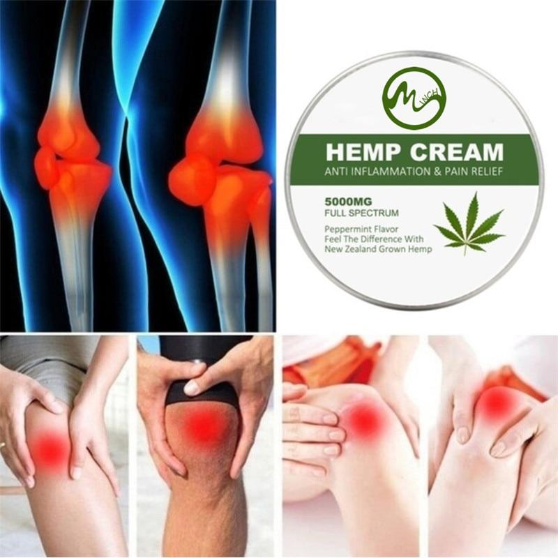 Minch CBD Hemp Cream Neck Pain Neck Relief Cream Anti-wrinkle Nourishing Arthritis Pain Relief Hemp Seeds Cream