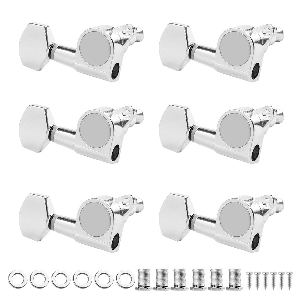 6R Acoustic Guitar String Tuning Pegs Tuners Guitar Tuning Peg Machine Heads Tuners Guitar Tuning Keys Pegs Heads Instruments недорого