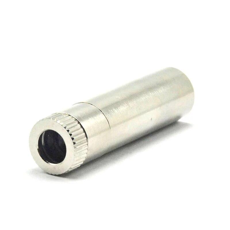 20шт металл диод корпус корпус хост для TO18 5,6 мм +синий красный ИК лазер диод DIY w 200 нм-1100 нм точка фокус объектив 12x40 мм