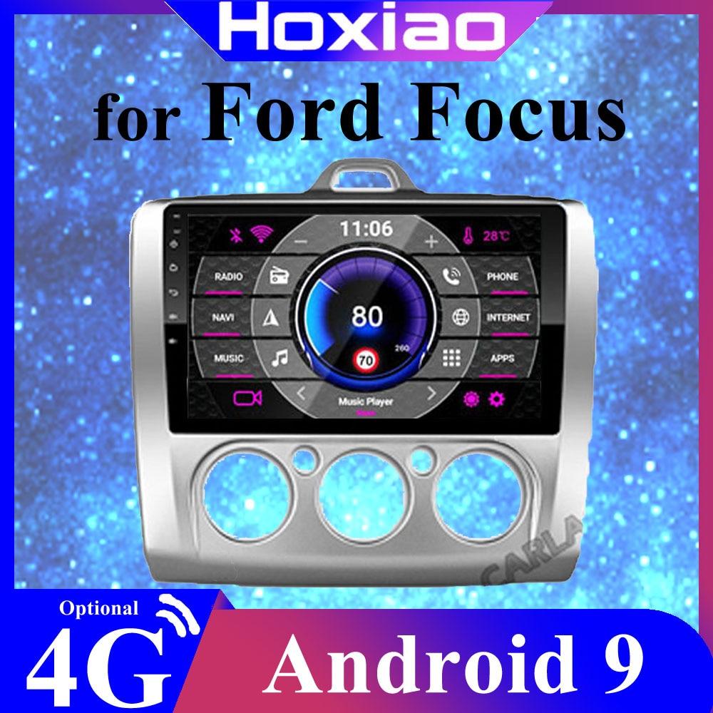 Sistema operativo Android 9 de 2din9 pulgadas, navegación GPS, radio de coche para Ford Focus Exi AT2004 2005 2006 2007 2008 2009-20112DIN