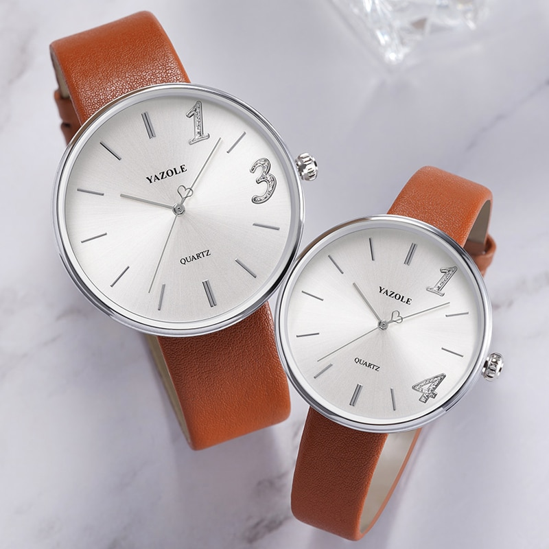New Watch For Men And Women Watches 2021 Fashion Creative Design 1314 Forever Couple Watches For Lov