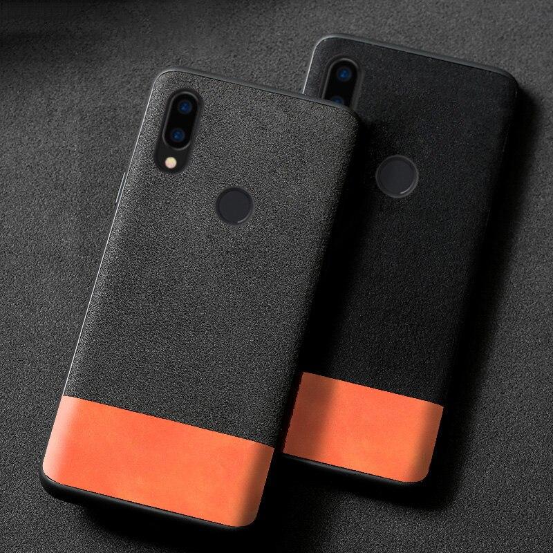 Funda de teléfono para Xiaomi mi 8 9 SE 9T A1 A2 A3 lite Poco F1 rojo mi nota 5 5 5 6 6 7 Pro 7A costura de gamuza para mi x 2s Max 3 Caso