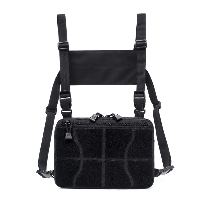 Chest Bag Adjustable Tactical Chest Rig Shoulder Bag Waist Packs Chest Recon Bag Tools Pouch Outdoor Hunting Accessories