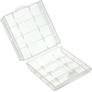 Battery Holder Case for Holding 10 AA AAA Batteries Hard Plastic Storage Box Cover For No.5/No.7 Battery Case
