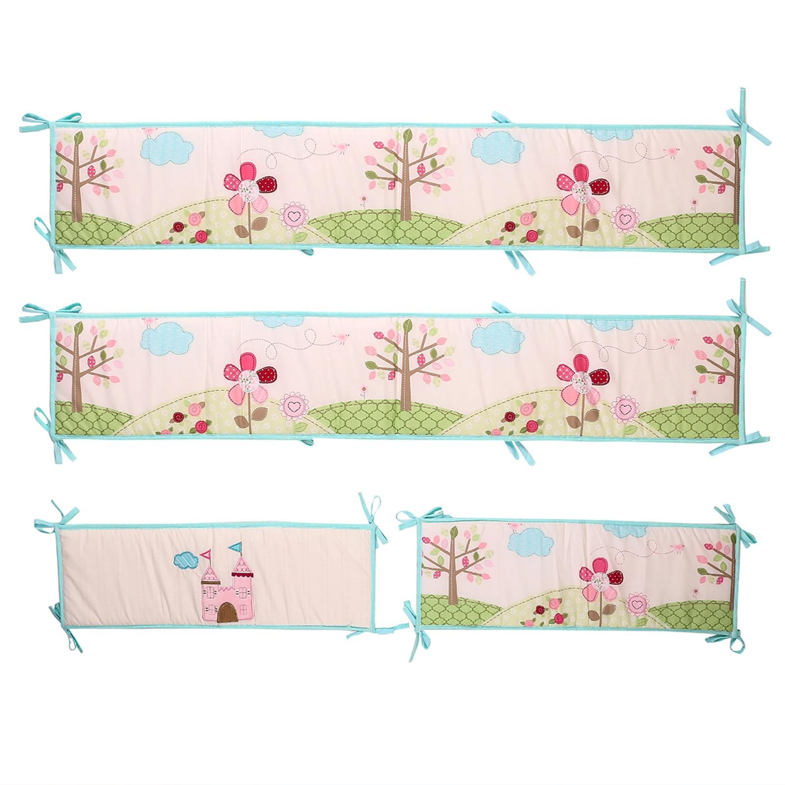 4 шт., Детские подкладки для детской кроватки