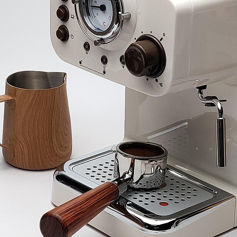 SANQ 51mm 커피 Delonghi EC680/EC685 교체 필터 바구니에 대 한 전문 에스프레소 기계에 대 한 하단 Portafilter