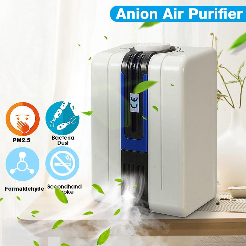 Home Ionizer Purifier Ozonator Air Cleaner Oxygen Purify Disinfect Sterilization Clear Peculiar Smel