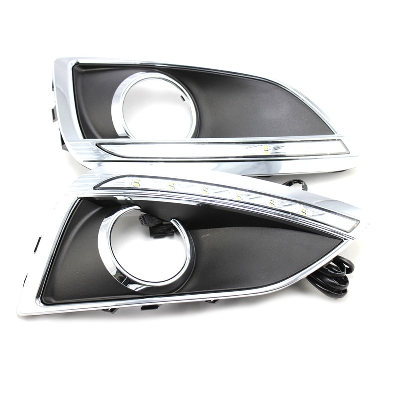 2Pcs für Hyundai IX35 LED Tagfahrlicht IX35 Auto Lichter Geändert Tagfahrlicht