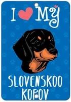 i love my slovenskoo kopov dog label vinyl decal sticker kit osha safety label compliance signs 8