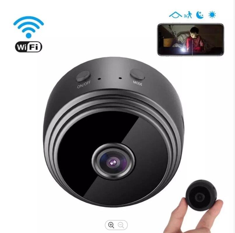 Wi-Fi мини Ip Камера на открытом воздухе и функцией ночной съемки микро шпион Камера видеокамера Видео и аудио записывающее Регистраторы безоп...