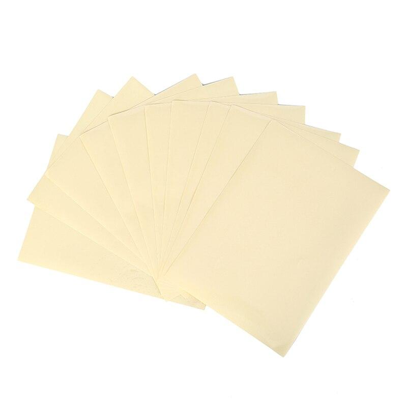 Прозрачная самоклеящаяся виниловая пленка А4, 10 листов, наклейка для этикеток 21X29,7 см для лазерного принтера