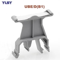 5pcs ubed b1 tag carrier terminals mark tower seat uk dia rail terminal block wire connector morsettiera identification board