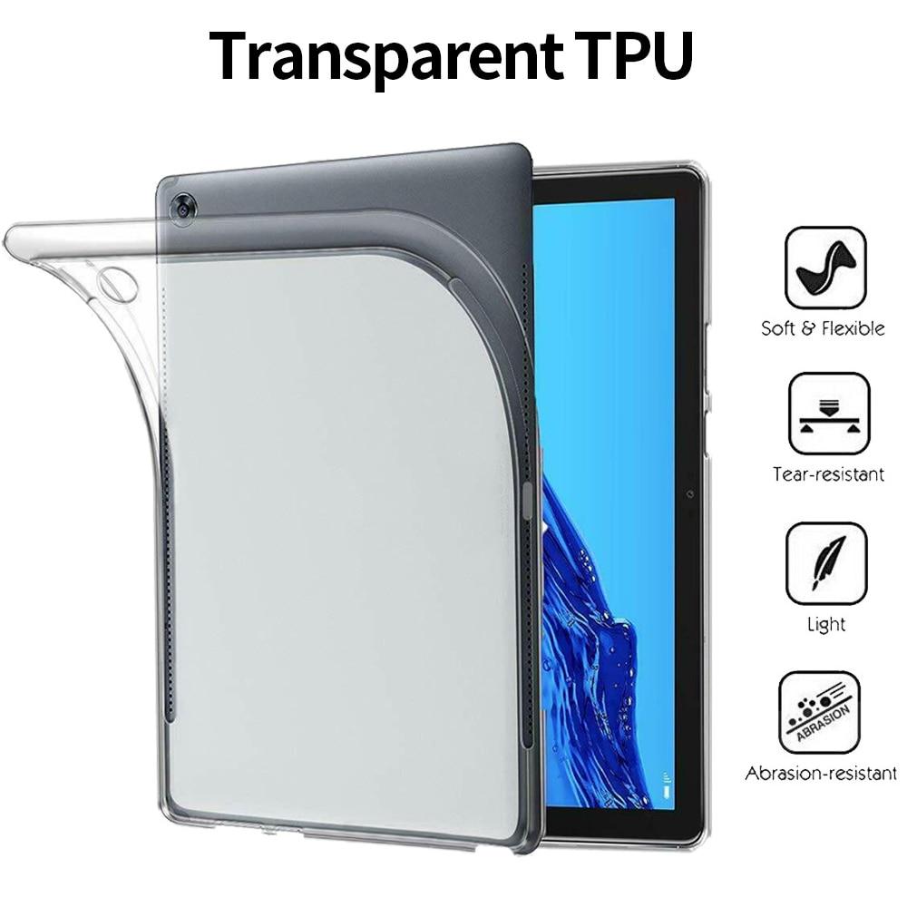 Coque souple pour Huawei MediaPad M5 M6 Lite Pro 10.8 8.4 10.1 8 pouces antichoc housse de protection pour Huawei T3 T5 étui en TPU