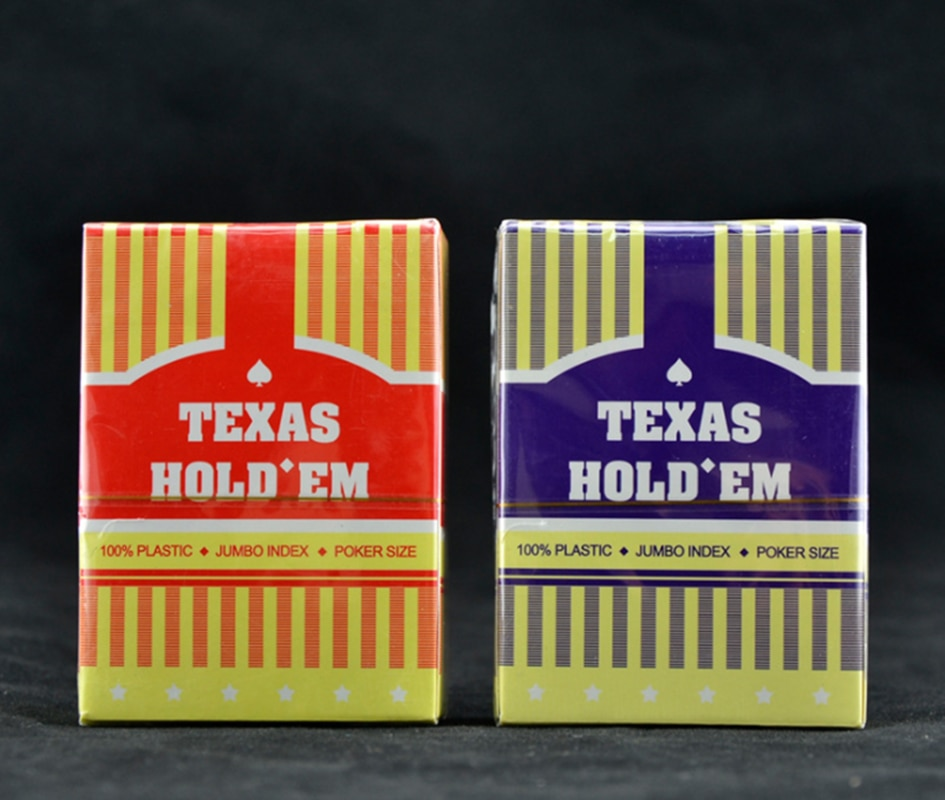 Texas Cards Waterproof Playing Cards Poker Plastic Waterproof Poker Deck For Board Game accessories rye morrison counting cards in texas hold em poker