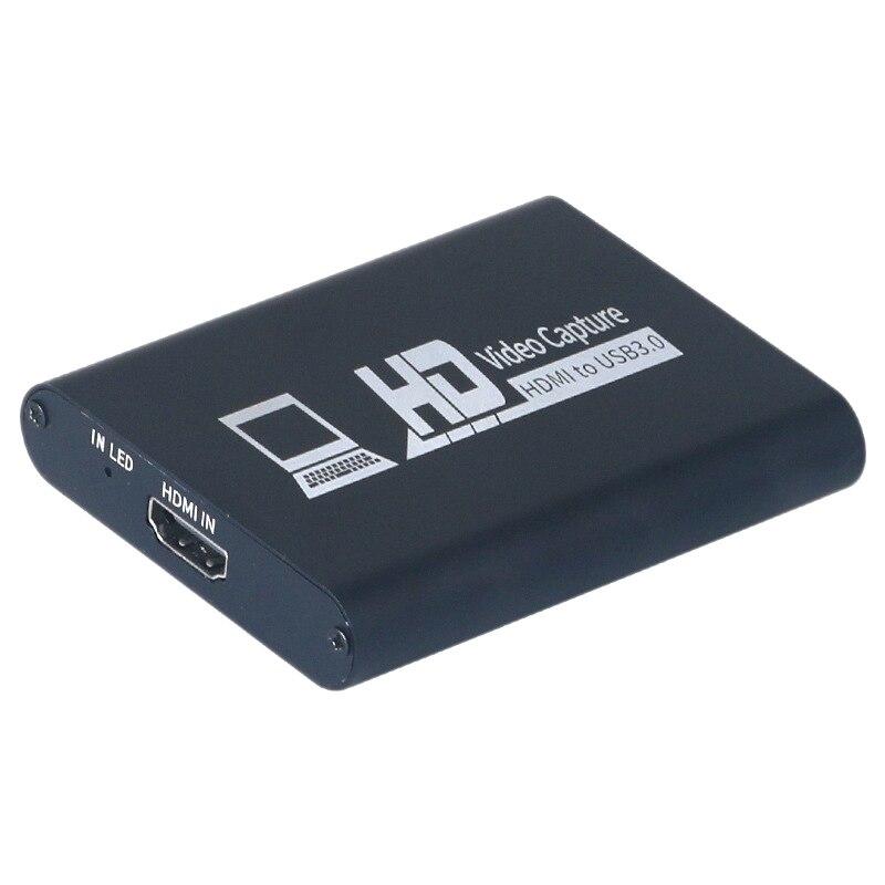 HDMI فيديو بطاقة التقاط الصوت والفيديو USB3.0 1080P HD لعبة لايف التقاط جهاز يدعم نظام التشغيل ويندوز 7 ، 8 ، 10 أو أعلى