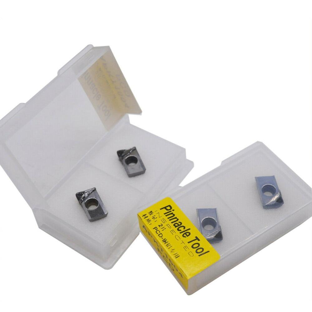 APKT1604 PCD CNC Carbide Inserts Aluminum Blade APKT1604 PCD Used For Aluminum Tools