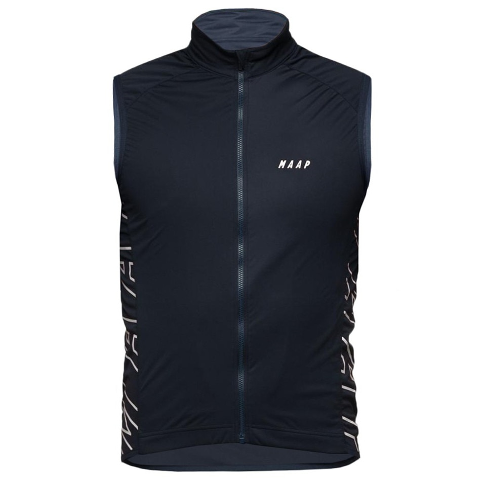 MAAP Windproof Vest Men Cycling Jersey Ropa Ciclismo Lightweight Breathable Mesh MTB Cycling Vest Bike Jacket Hombre Bicycle Kit