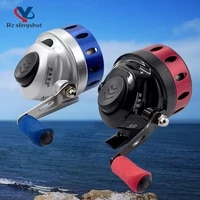 tr35tb35 metal slingshot fishing reels speed ratio 4 31 built in line catapult bow fish wheel for outdoor hunting shooting