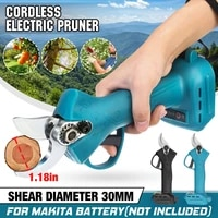 30mm cordless pruner electric pruning shears scissor branch pruner fruit tree bonsai pruning for makita 18v battery