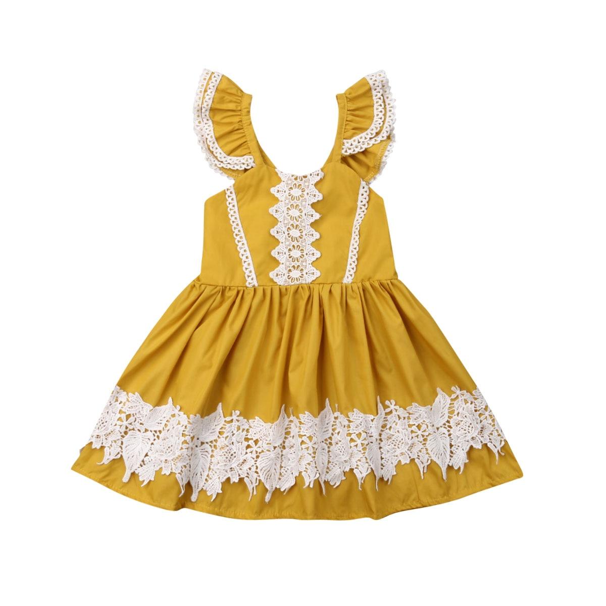 Fashion Toddler Kid Girl Dress Floral Ruffle Tutu Princess Dress Prom Party Beauty Contest Formal Dress