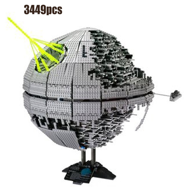 Serie de Star Wars de la estrella de la muerte de 05007, 05051, 05052, 05042, 05041, 05048 de 05026 bloques de construcción de ladrillos Juguetes Kits