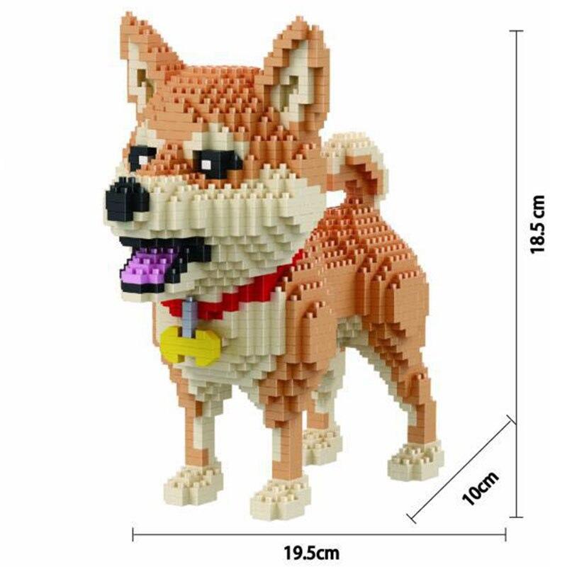 Микро алмазов Div маленький комплект частей для сборки частиц домашних животных Животные стильная футболка с изображением персонажей видео...