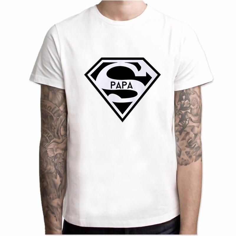 2020 Футболка супер папы, подарок на день отцов, забавная футболка, лучшая футболка для папы, Мужская Летняя Повседневная хипстерская футболка со слоганом, Мужская футболка